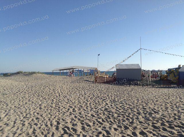 Пляж в с.Поповка.