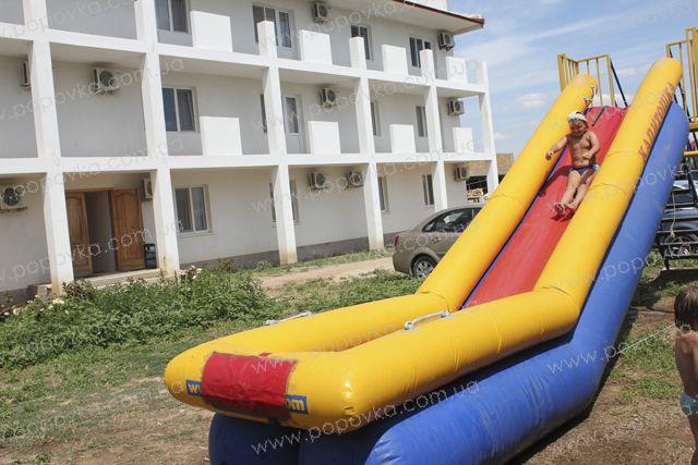 Детская водная горка в гостинице